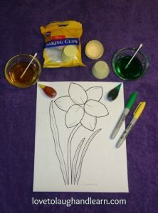 Learning Activities for the Color Yellow: Materials Needed - Daffodil