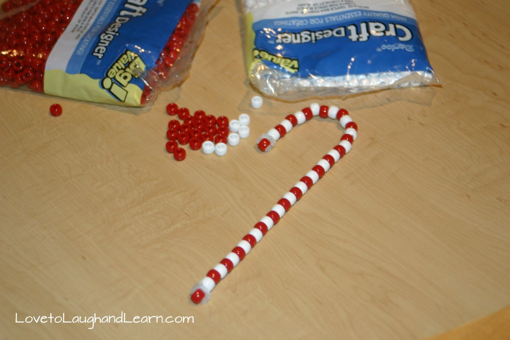 Finished Candy Cane Craft