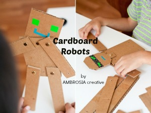 Learning Activities for Shapes: Cardboard Robot
