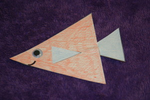 Create a cute fish while learning about triangles.