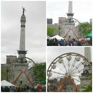 Family Friendly Events: Ferris Wheel at Chase 500 Festival Kids' Day