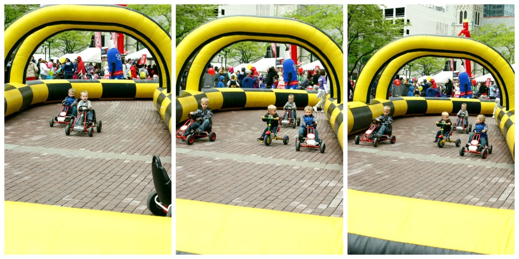 Pedal Raceway at the Chase 500 Festival Kids' Day