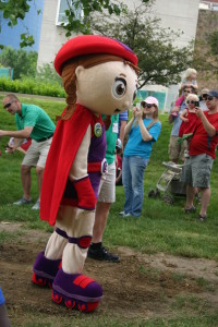 PBS Kids in the Park: PBS Character