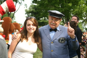 Ashley & Mr. McFeely