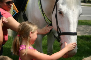 Madison & the horse
