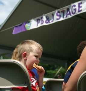PBS Kids in the Park: PB & J