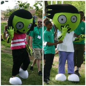 PBS Kids in the Park: PBS Characters