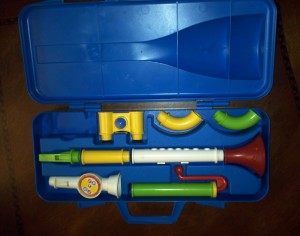 Fisher Price Crazy Horn Set