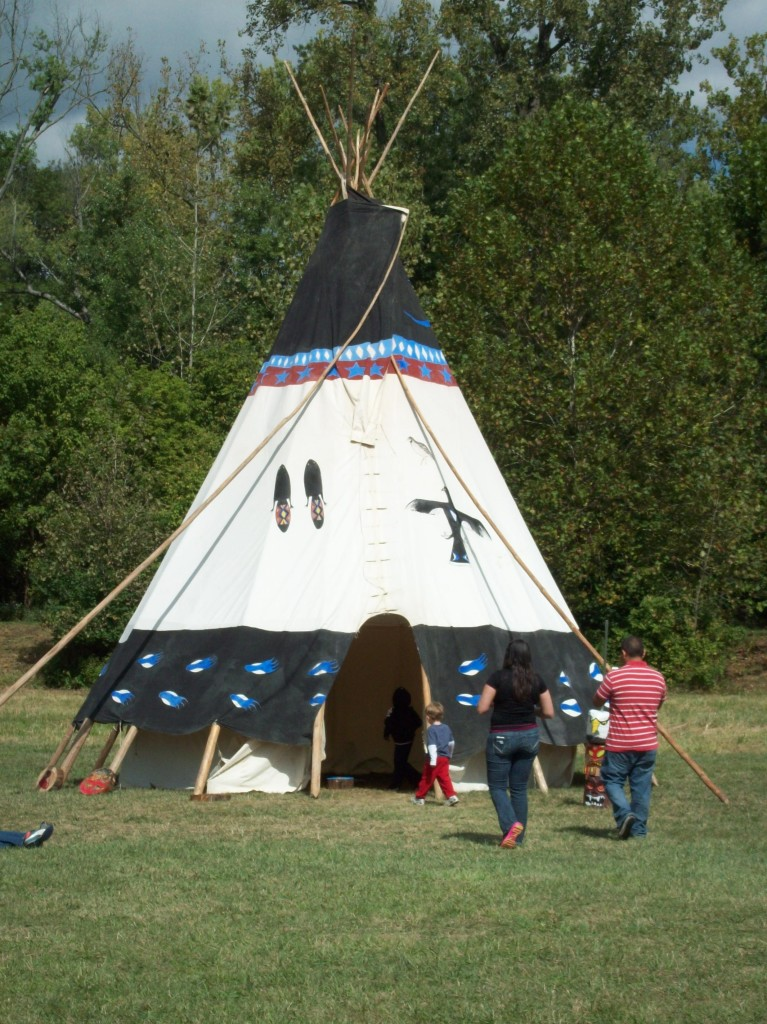 Love to Laugh and Learn: Teepee at Hoosier Outdoor Experience