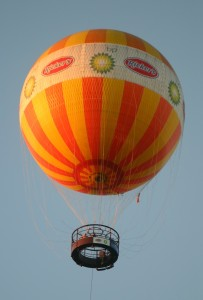Spooky Fun at Conner Prairie: Hot Air Balloon