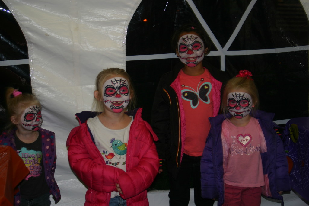 Spooky Fun at Conner Prairie: Face Painting Fun