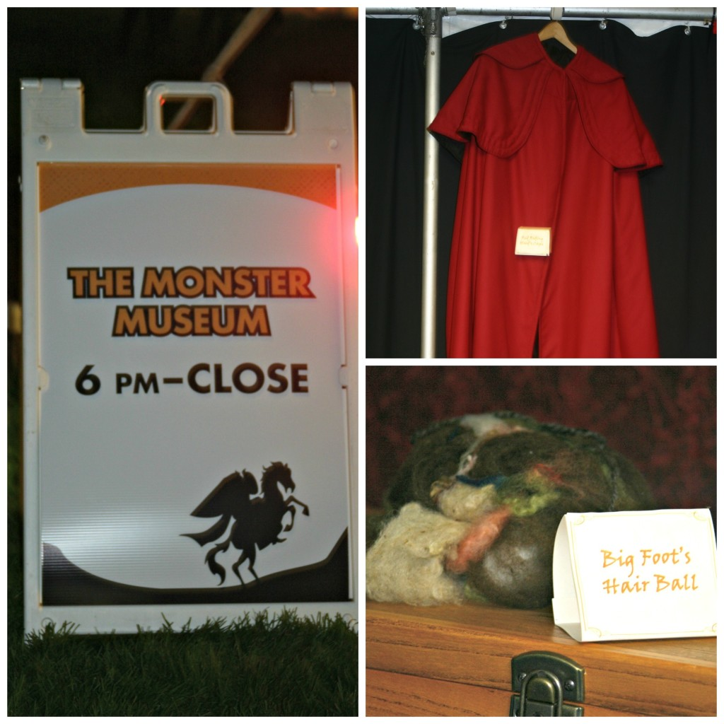Spooky Fun at Conner Prairie: Monster Museum Collage