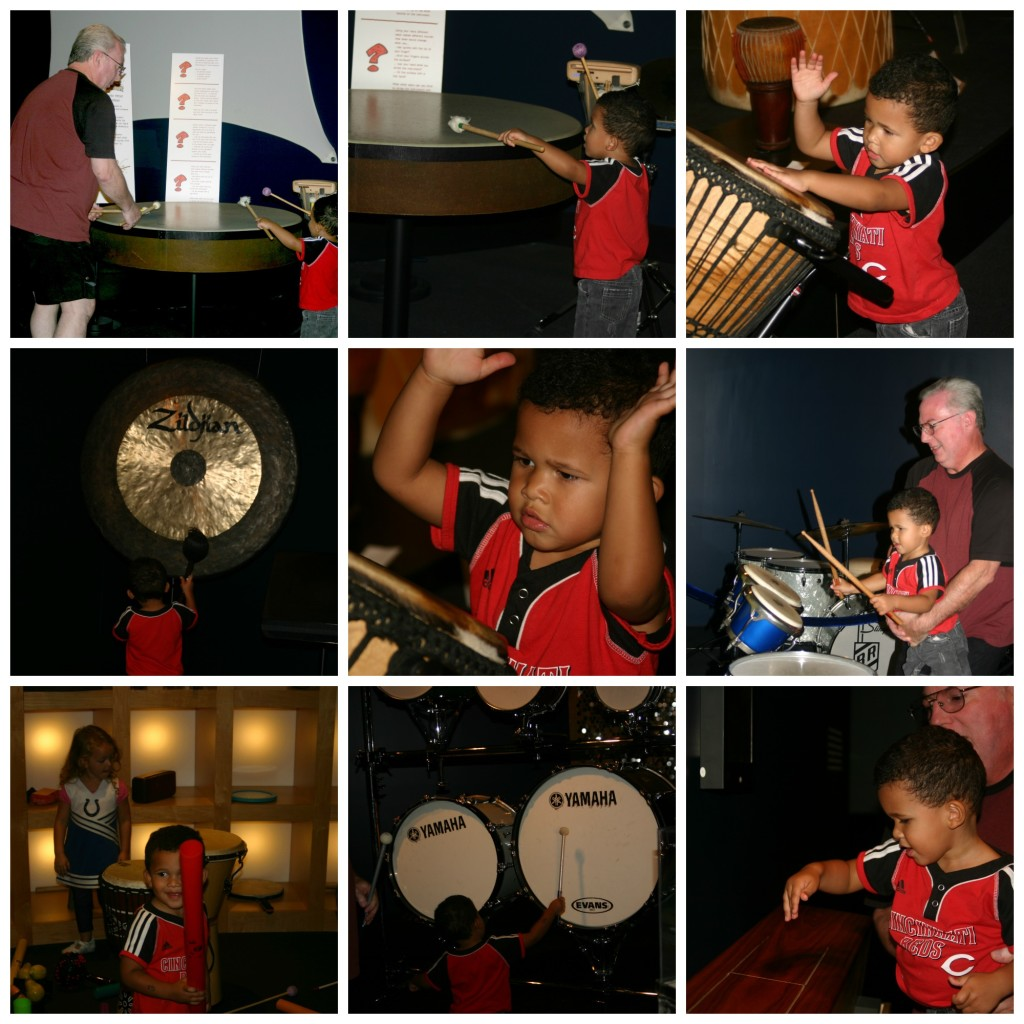 Rhythm! Discovery Center Collage
