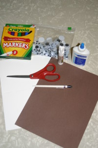 Fun with Turkeys: Materials Needed for Hands and Feet Turkey