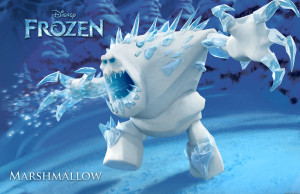 Disney's FROZEN (Pictured) MARSHMALLOW. ©2013 Disney. All Rights Reserved.