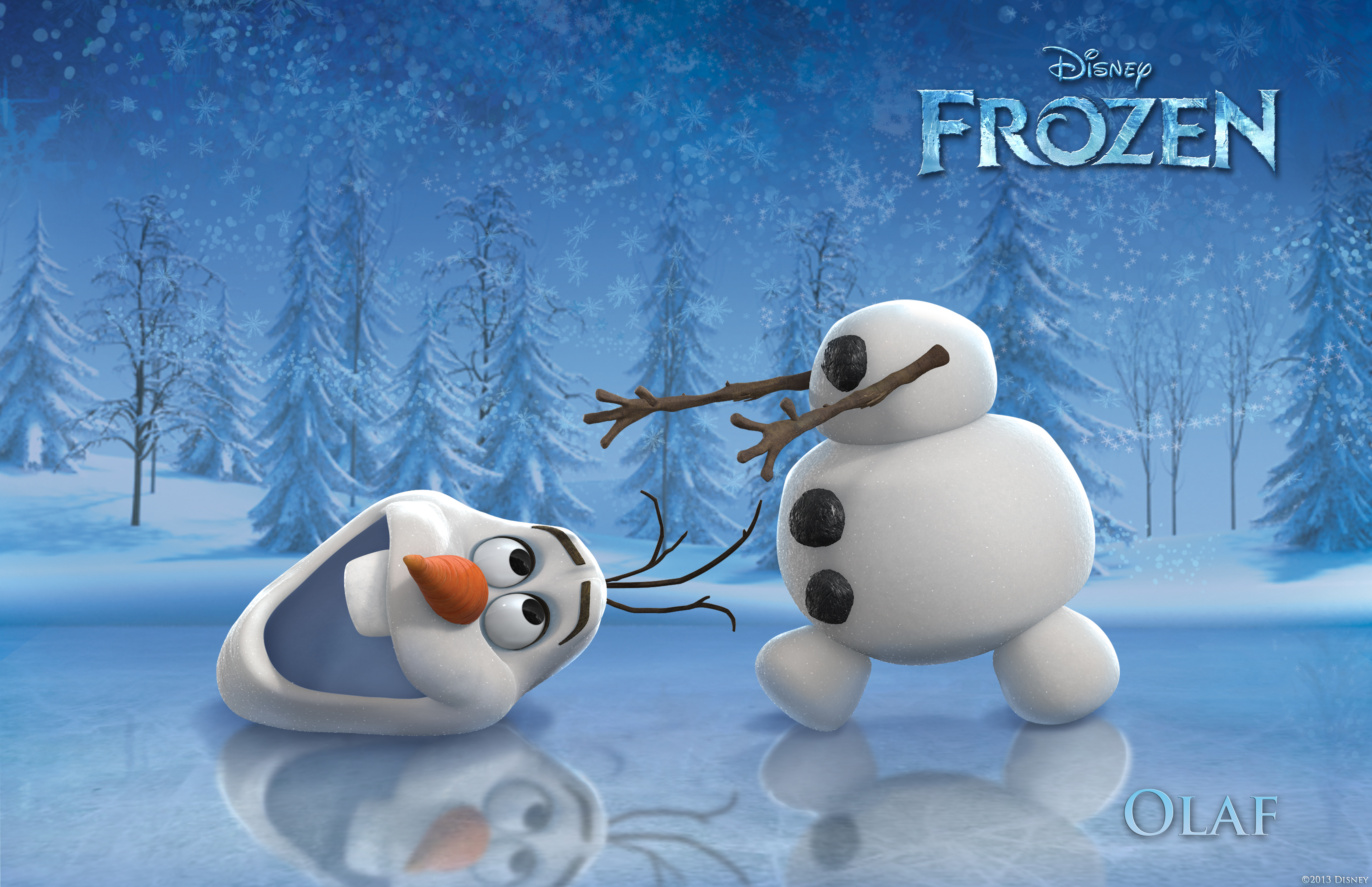Frozen pictured olaf 169 2013 disney all rights reserved