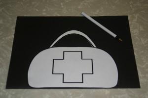 Community Helpers: Doctors -Do ctor's Bag Craft