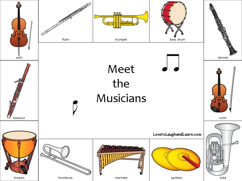 Meet the Musicians Activity Sheet