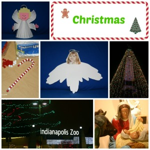 Christmas Posts Collage