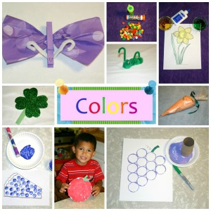 Love to Laugh and Learn: Colors Craft Collage