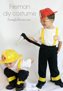 Firefighters: Fireman D.I.Y. Costume by Parties for Pennies