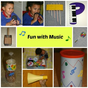 Love to Laugh and Learn: Fun with Music Craft Collage
