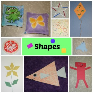 Love to Laugh and Learn: Shapes Craft Collage