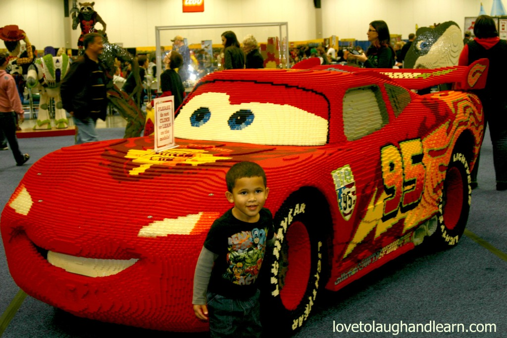 LEGO® KidsFest: Jeremiah and Lightning McQueen edited