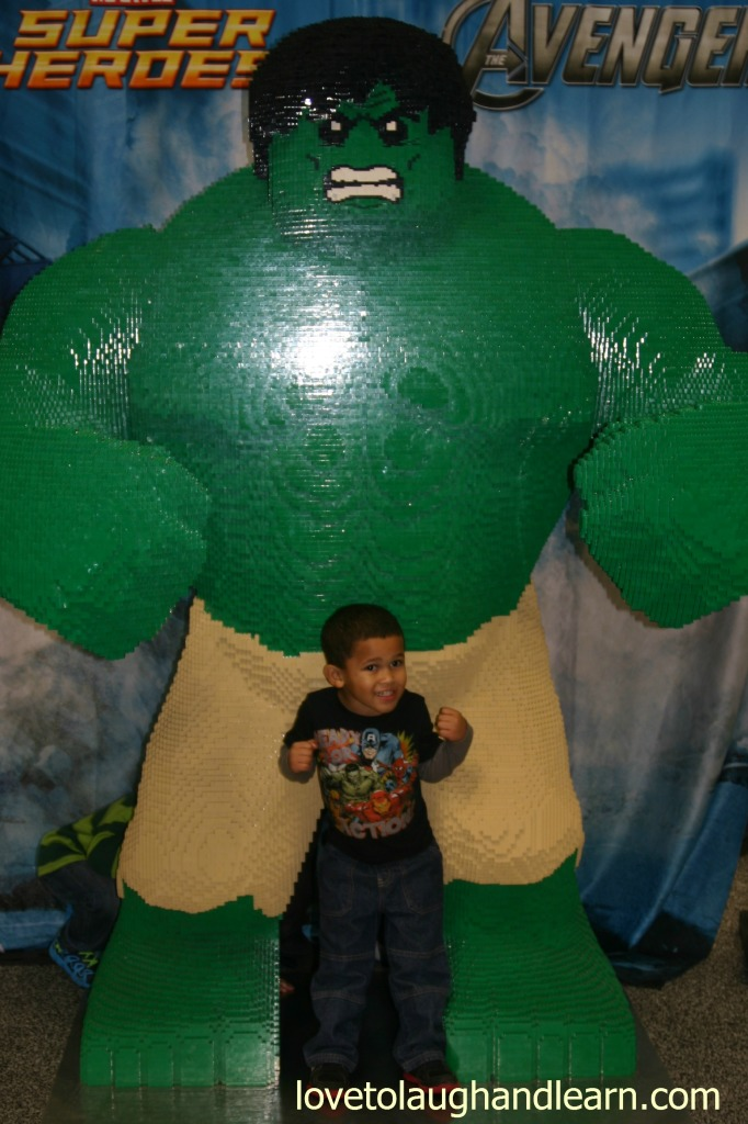 LEGO® KidsFest: Jeremiah and the Hulk edited