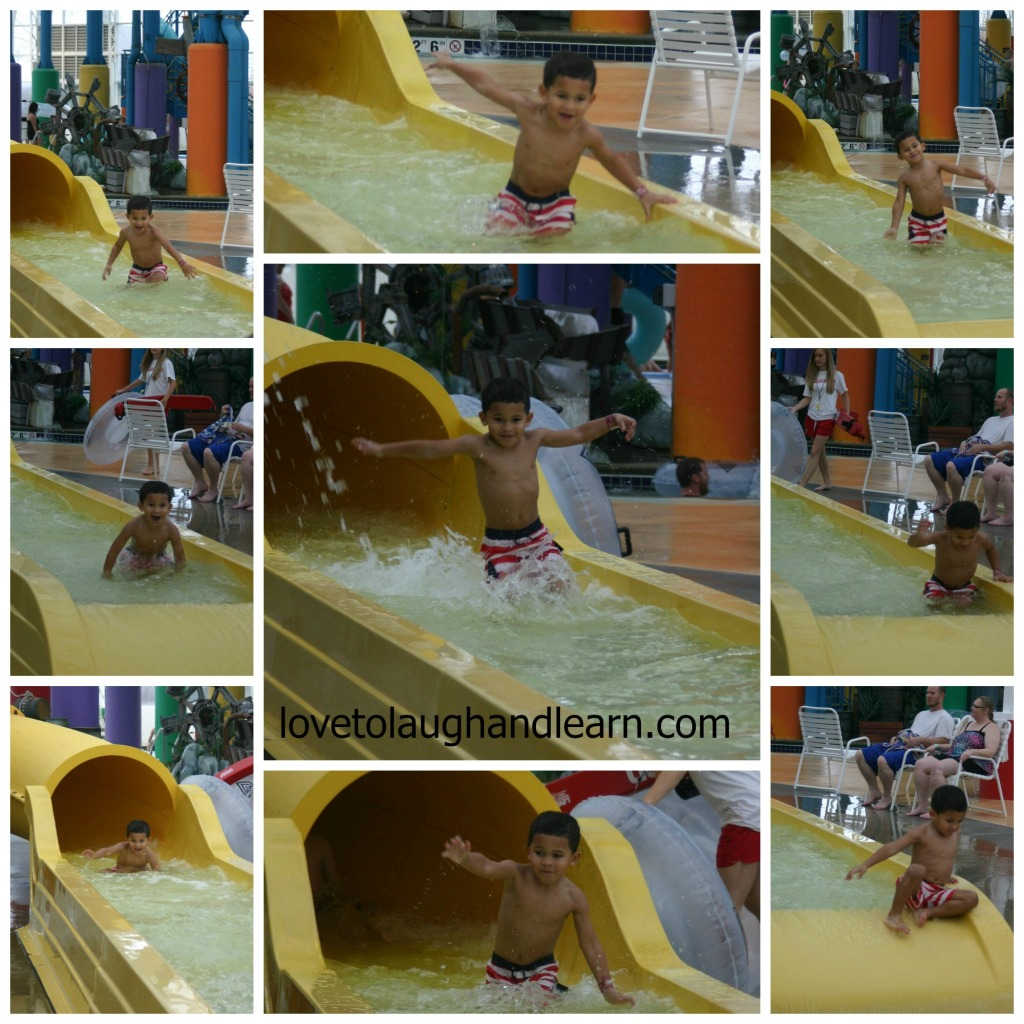 Big Splash Adventure: Jeremiah's favorite slide