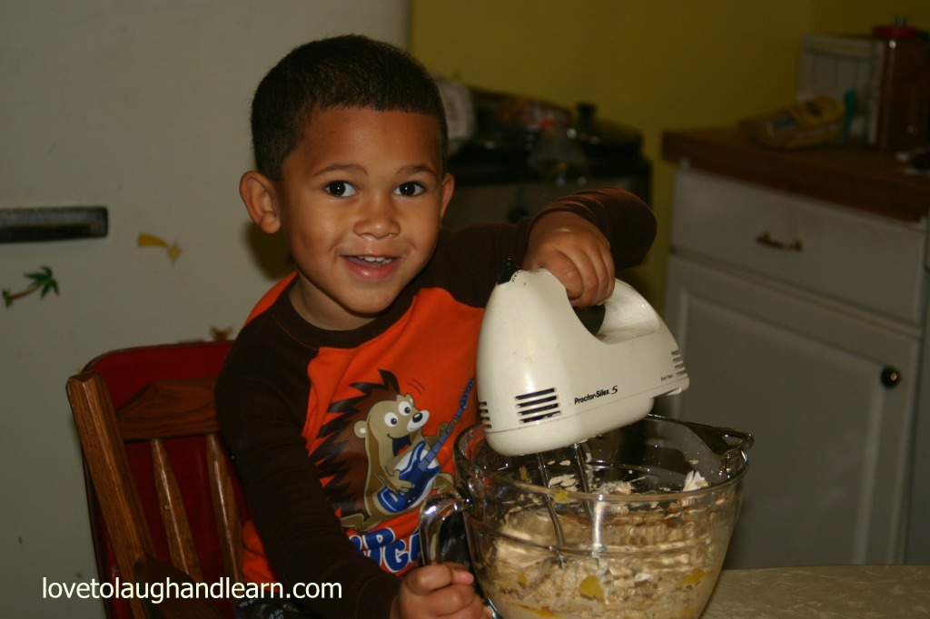 How to Eat a Pumpkin: Using a Mixer