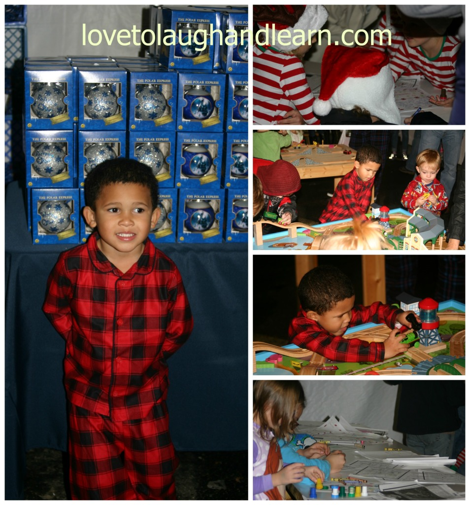 Making Memories with the Polar Express: Activity Tents