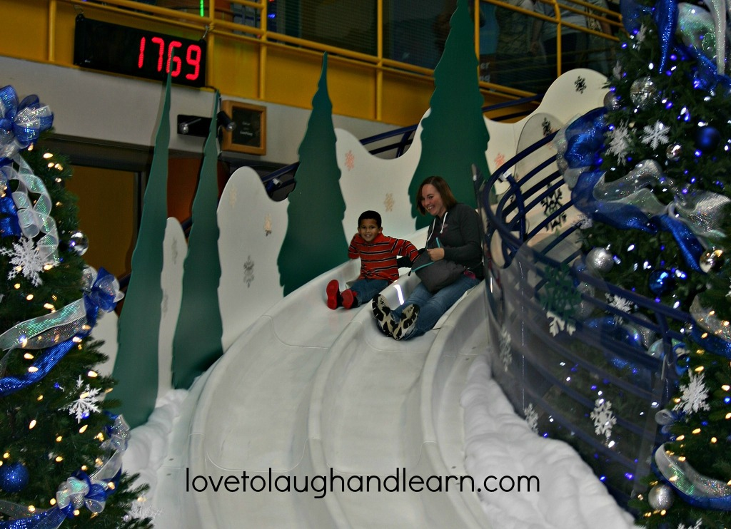Jolly Days Winter Wonderland: Yule Slide