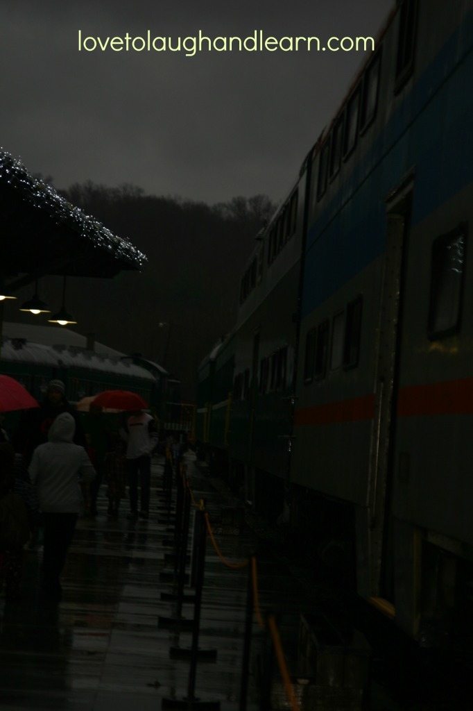 Making Memories with the Polar Express: It rained...a lot!
