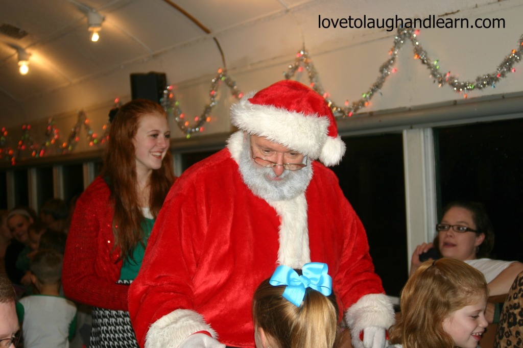 Making Memories with the Polar Express: Santa