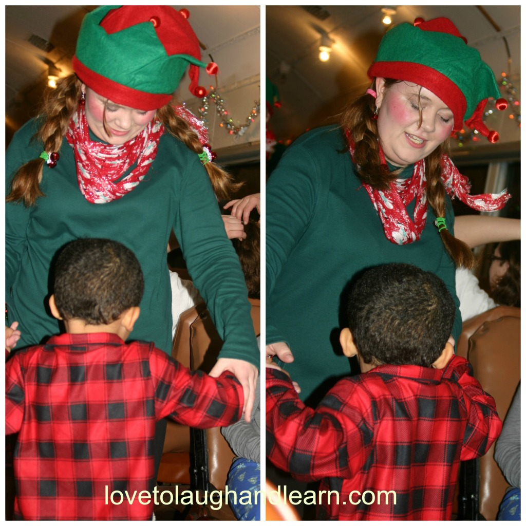 Making Memories with the Polar Express: Dancing with elves