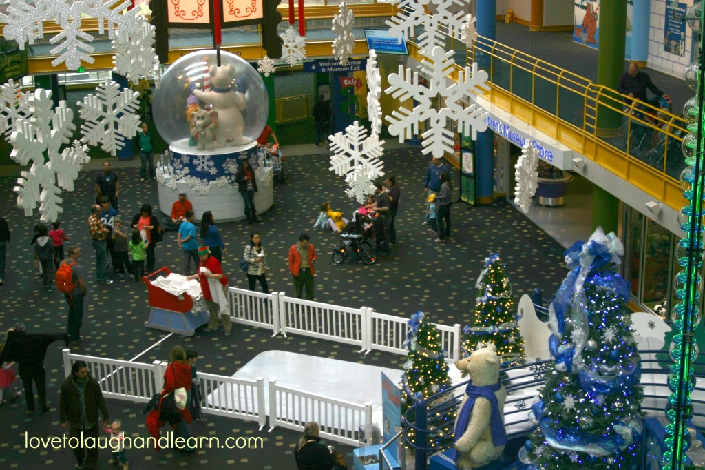 Jolly Days Winter Wonderland at the Children's Museum of Indianapolis