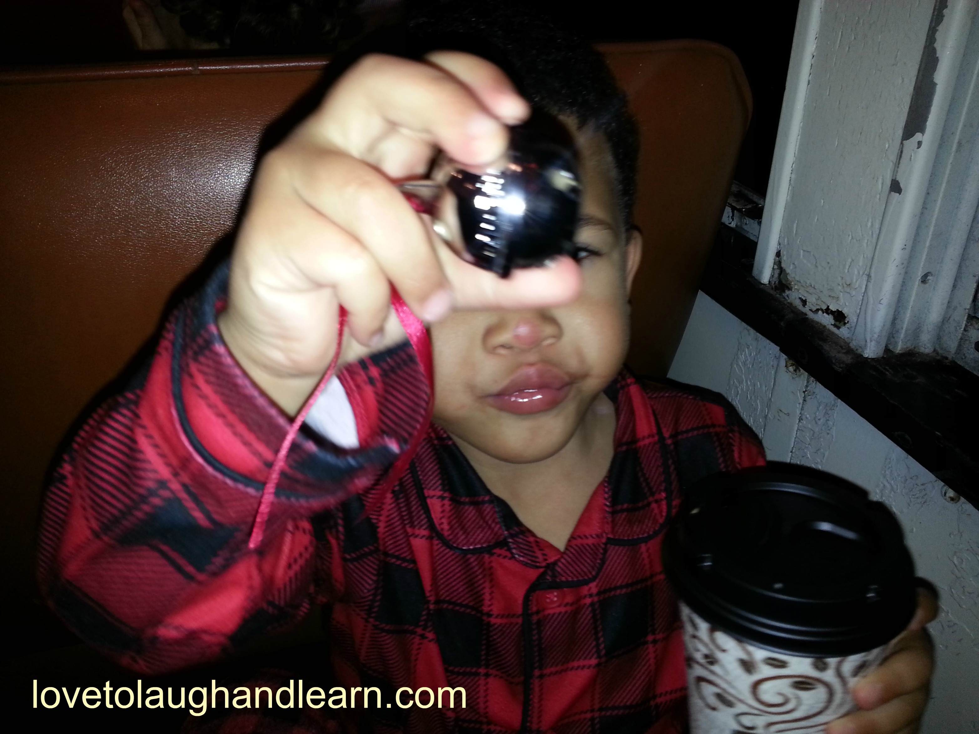 Making Memories with the Polar Express: jingle bell and hot chocolate