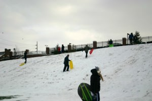 Family Friendly Events: Sledding at Butler Hill