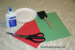 Learning Activities for the Color Red: Materials Needed for Torn Paper Apple Craft