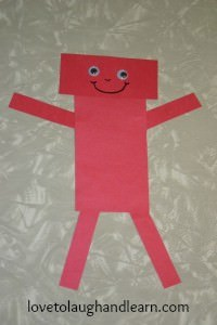 Red Rectangle Robot