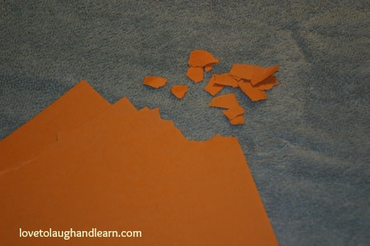 Learning Activities for the Color Orange: Orange Carrot Craft