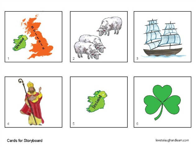 Enjoy learning about Saint Patrick and this special holiday with this fun Saint Patrick's Day Storyboard for the Younger Child