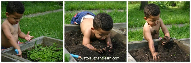 Gardening with Children: Digging in the Garden