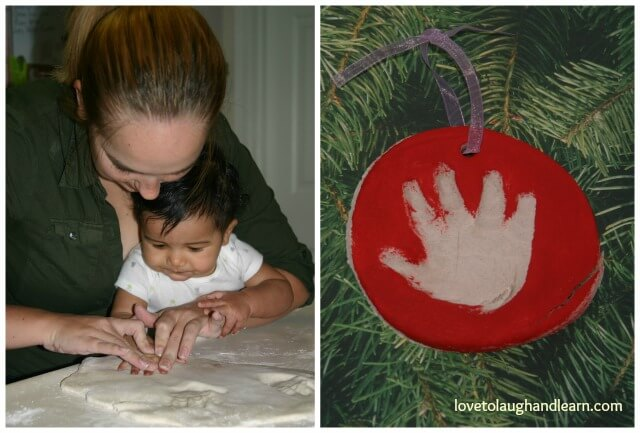 My special handprint gift from my daughter and grandson.