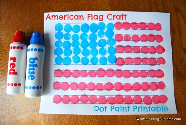 Flag Day: American Flag Craft