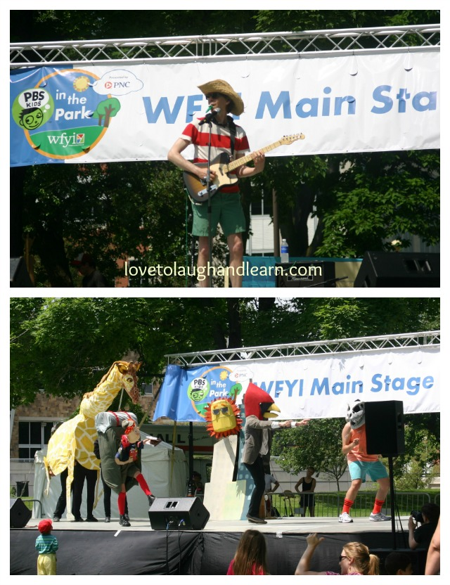 PBS Kids Day, Main Stage