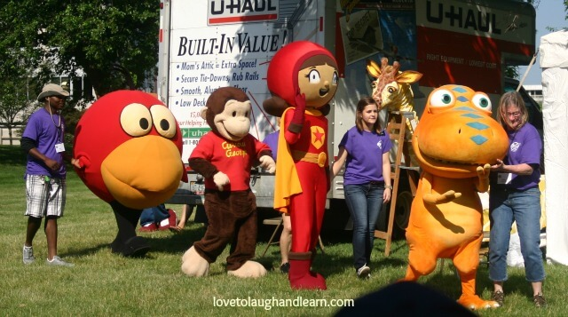 PBS Kids in the Park: Character Parade