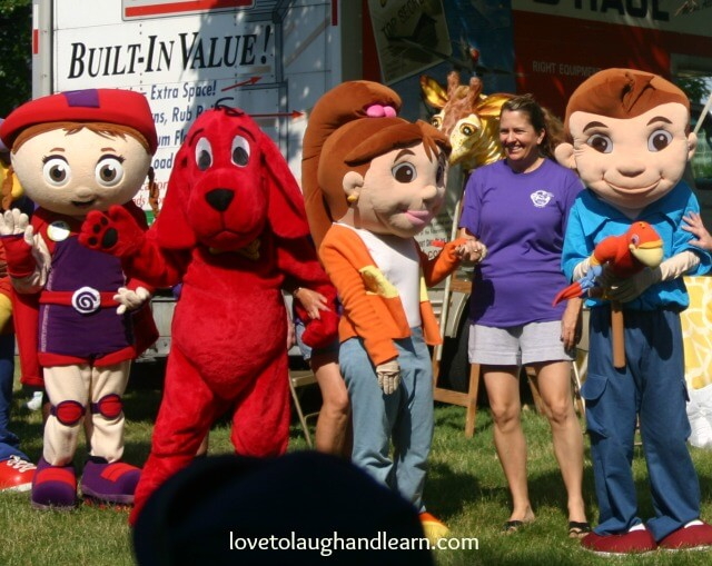 PBS Kids Day in the Park: Character Parade