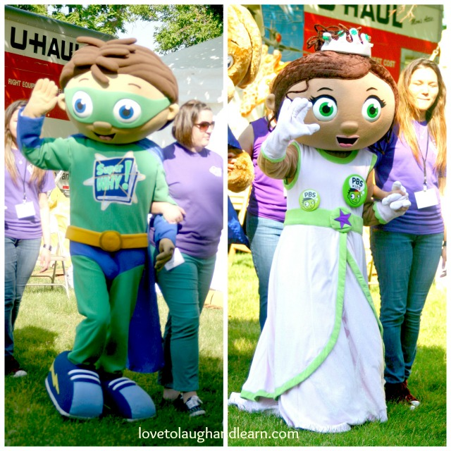 PBS Kids in the Park: Super Why and Princess Pea